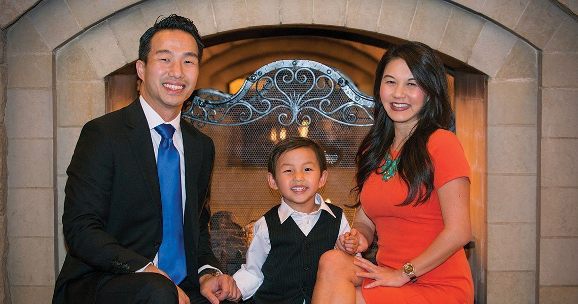 Swisher Dental - Dr Suzanne Thai and Family