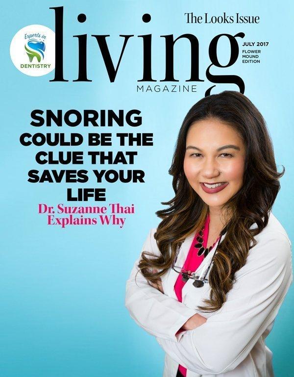 Swisher Dental Sleep Apnea in Living Magazine July 2017 Issue